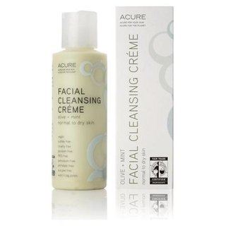 Acure Organics facial cleansing creme argan oil + mint