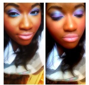 Makeup by Leanna Seward (me)