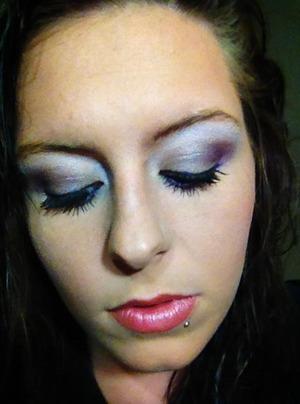 I used the UD Glinda Palette with scandalash mascara by Rimmel