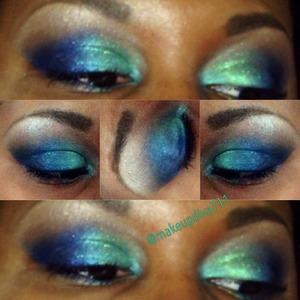 #navyandgreen #nofilter #makeupdiva711 #makeupforever #maccosmetics #sephora #makeup #maybelline #urbandecay #beatface