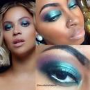 "Beyonce's ""MINE"" Makeup Recreation!"