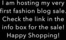 Fashion Blog Sale!