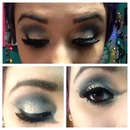 My New Years Makeup (: