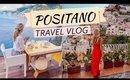 POSITANO TRAVEL VLOG | Beach Club, Boat Ride & Heart-Shaped Pizza ♥