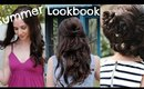 Summer Hairstyle Lookbook: Down Curls, Half Back and Fancy Braid!