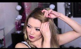5 Minute Wavy Fall Hair Tutorial
