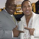 The Rock & Michael Clarke Duncan