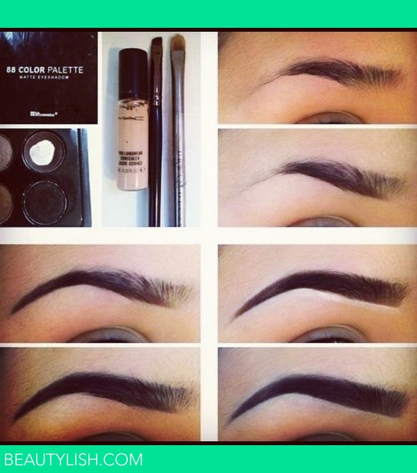 How To Fill In Your Eyebrows Deisy Rs Photo Beautylish