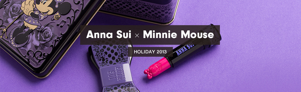 Shop Anna Sui x Minnie Mouse Holiday 2013 Collection