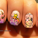 Jem and the Holograms nails