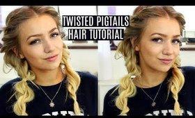 grown up pigtails tutorial