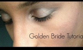 Golden Bride Makeup Tutorial