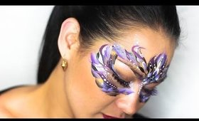 Violet & Purple Passion Makeup & Face Paint