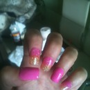 Barbie pink and orange