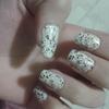 Glitter mess