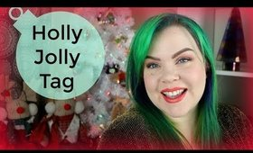 Holly Jolly Christmas Tag | Get to Know Me!