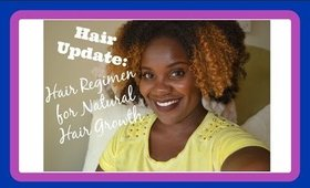 Hair Update: Hair regimen for Natural Hair Growth