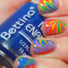 31 Day Challenge Rainbow Nails