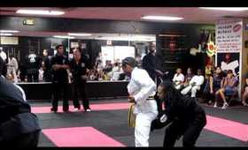 Goju Ryu Karate: Theresa Thoulouis 2nd Degree Black Belt Test