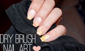 Easy Dry Brush Nail Art Tutorial