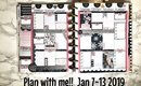 HAPPY PLANNER  PLAN WITH ME feat: The Planner Shack