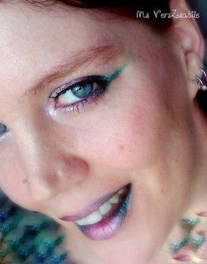 Christmas makeup MsVersZsatile