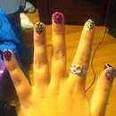 this is my first nail desin