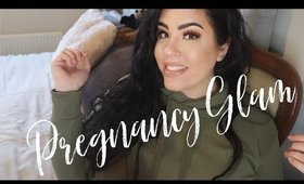 Pregnancy Glam Makeup