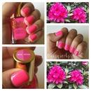 Vibrant Neon Pink Mani