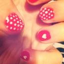 polkadots & hearts