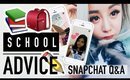 Back To School Advice Q&A ♥ Mean Girls, Makeup, My Entrance Exam Mark? ♥ Wengie