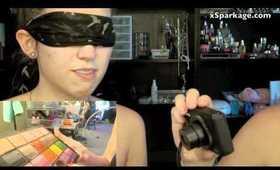 BLINDFOLD SISTER MAKEUP TAG!!!