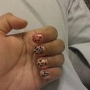cheetah nails ,, errrr