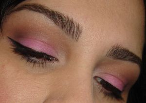 Soft Brown & Pink