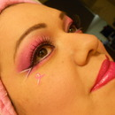 Pinup style.....breast cancer awarness