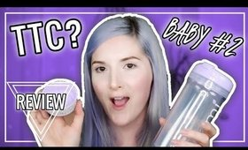 WHAT I DRINK WHILE TTC BABY #2 | Review & Haul | Caitlyn Kreklewich
