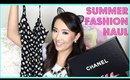 SUMMER FASHION HAUL! + CHANEL! ♡ hollyannaeree