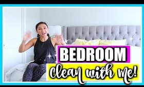 BEDROOM CLEAN WITH ME! | Bedroom Cleaning Routine, Cleaning Motivation