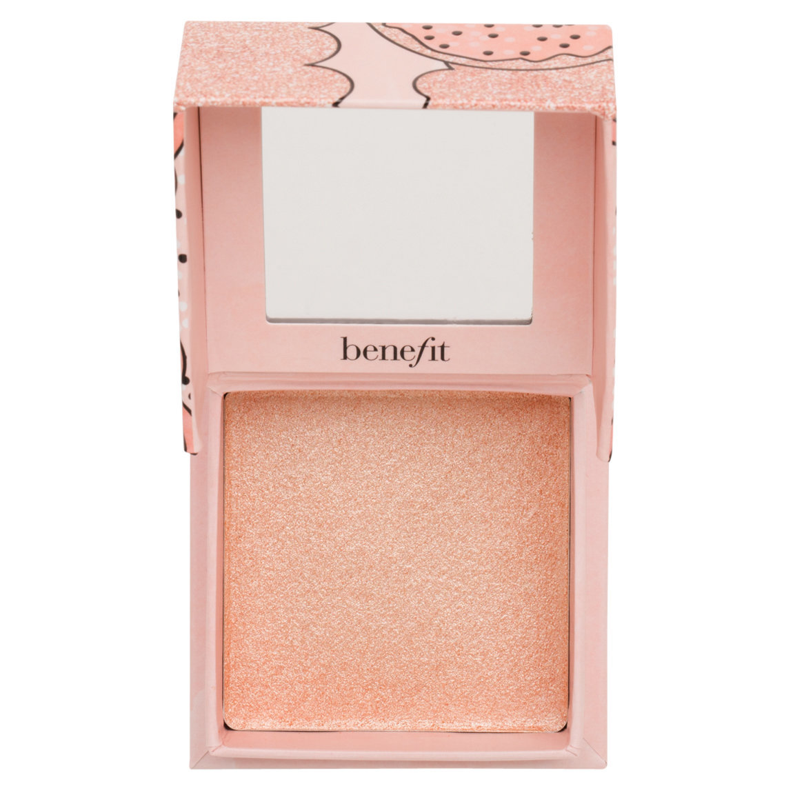 Benefit Cosmetics Cookie Powder Highlighter product swatch.