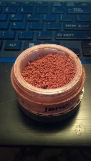 Jane Mineral Crushed Blush in Mink :) pretty cheap- you can find this in drugstores but I am definitely impressed by the quality