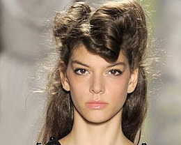 Tracy Reese Hair, New York Fashion Week S/S 2012