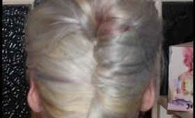 Messy French Twist with Wella