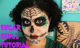 Creepy, Cute Day of the Dead Sugar Skull Tutorial