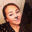 Reindeer Makeup