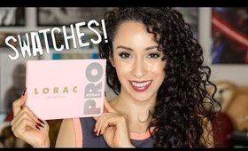 Lorac Mega Pro 4 Palette Swatches and First Impressions!