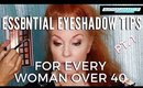 Learn How To Apply Eyeshadow On Mature Eyes For The Summer | mathias4makeup