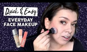 Get Ready Super Quick | Easy Everyday Face Makeup