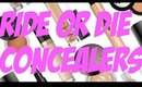 HOLY GRAIL RIDE OR DIE CONCEALERS!