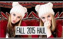 Fall Haul Time | Shoes, Clothes, Makeup