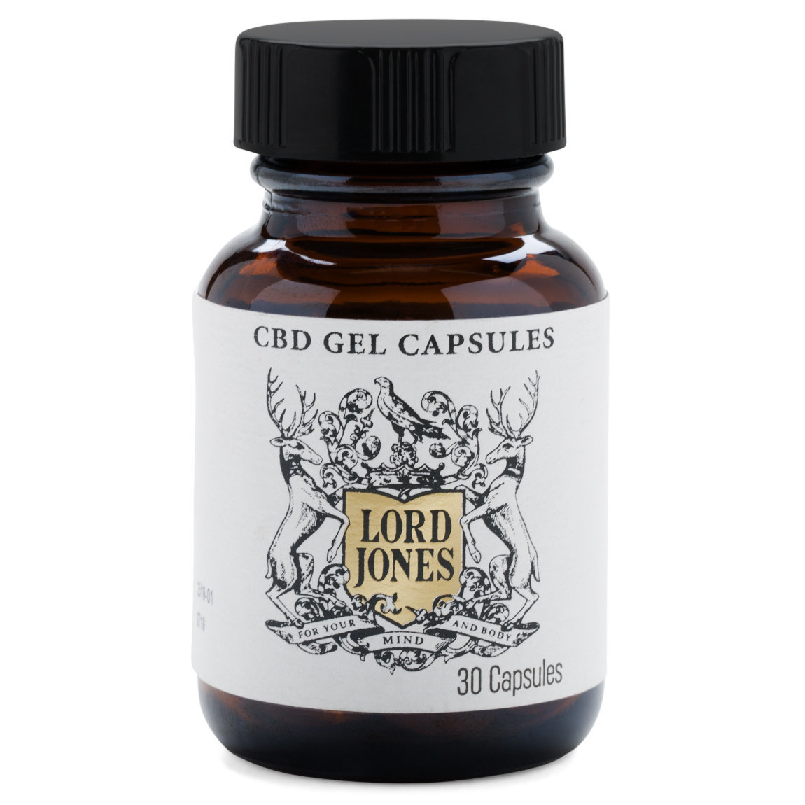 Lord Jones Gel Capsules product smear.